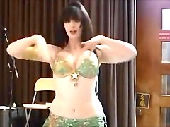Dance, Belly dancing striptease