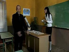 Anal, Bus, Teacher, Female teacher anal