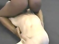 Interracial, Mixed wrestling hogtied bondage