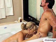Massage, Ass, Massage and shower