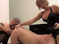 Bdsm, Domination, Strapon, Euro domination 3 part 1