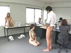 Asian, Japanese, Office, Office slave