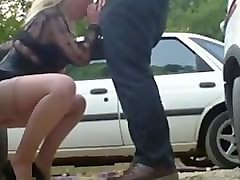 Blonde, Dogging, Milf, Beach dogging