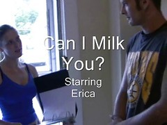 Masturbation, Jerking, Milk, Slow milking handjob