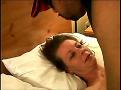 Cuckold, Humiliated cuckolds eating creampie