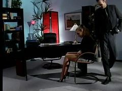 Secretary, Nylon, Shiny nylons