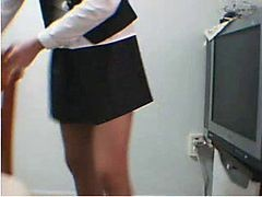 Amateur, Asian, Korean, Uniform masturbate