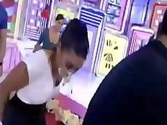 Game, Voyeur in game show for flashing in public