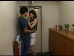 Asian, Housewife, Japanese, Boss cheat wife
