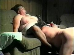 Gangbang, Ugly, Outdoor, Ugly fat man