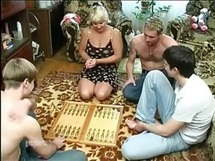 Gangbang, Wife, Mature, Wife party