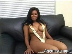 Ebony, Whore, Big Tits, Filthy whore