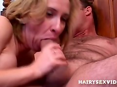 Hairy, Hairy mature facial