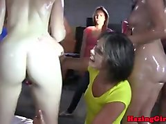 Teen, Oil, Dirty latina