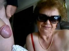 Granny, Blowjob, Blowjob lesson