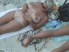 Beach, Mature, Beach shemale