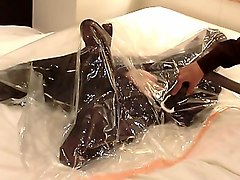Female slave breathplay torture