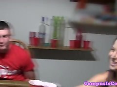 Schoogirl fucked at poker game