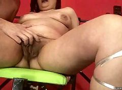 Sybian, First time with sybian