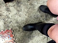 Boots, Rubber, Socks, Wellies rubber boots ballbusting