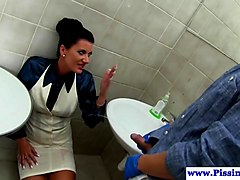 Oil, Facial, Indian aunty piss toilet