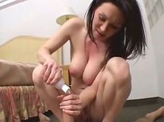 Anal, Wife, Riding, Teen gets facial after blowjob and cock riding
