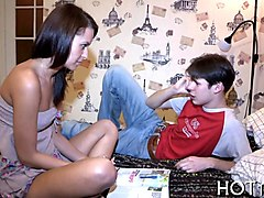 Teen, Cute, Cute girl with nice ass masturbates german