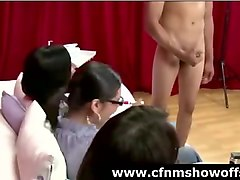Group, Masturbation, Jerking, Anal cfnm party