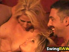 Blonde, Whore, Orgy, Creampie swinger