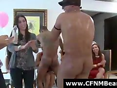 Amateur, Group, Cfnm, Cfnm threeway
