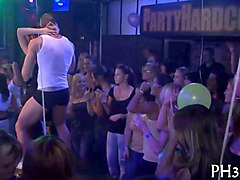 Czech, Club, Party, Male strippers