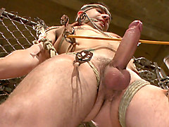 Slave, Huge cock painful
