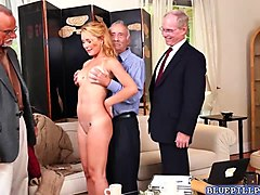 Blonde, Gangbang, Teen, Gang bang girl 14