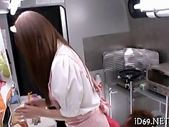 Food, Teen, Japanese hot mom bang teen uncensored