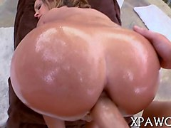 Babe, Oil, Masturbation squirt in 6 inch heels seamed thigh