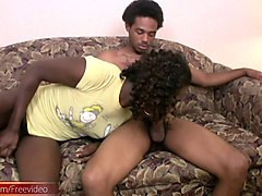 Ebony, Ass, Shemale, Fat blonde gets facial after a bubble butt fuck