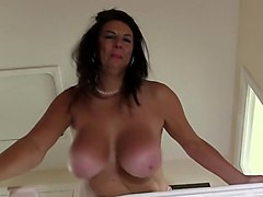 Big Tits, Throat cum slow motion