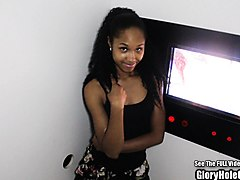 Ebony, Beauty, Gloryhole, Glory hole for exgirlfriend