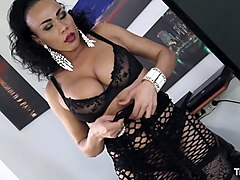 Italian, Shemale, Realy orgasm