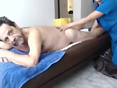 Grandpa, Massage, Ass, Massage and anal