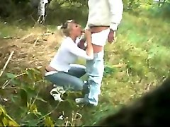 Teen, Couple, Voyeur, Voyeur outdoor couple
