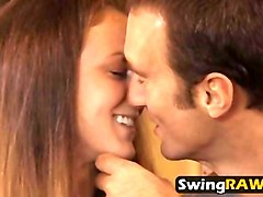 Girlfriend, Tied, Mature swinger club report