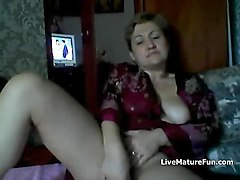 Russian, Mature mom fucking asian guy