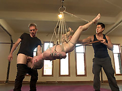 Swallow, Ass, Tied, Tied fuck