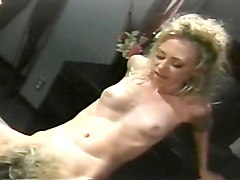 Blonde, Huge cock creampie