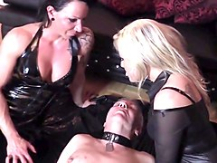 Bdsm, Domination, Kissing, Ladyboy public