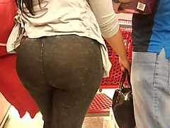 Black, Jeans, Latina, Big asses in jeans