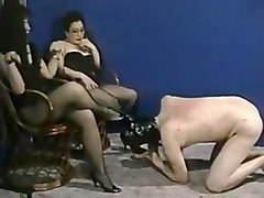 Slave, Mistress in leder