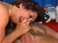 German, German mature lawyer squirt