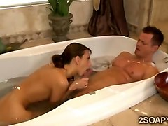 Babe, Bath, Massage, German prostate massage